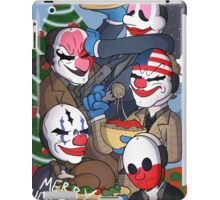 Merry Heistmas! iPad Case/Skin