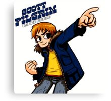 Scott Pilgrim vs The Whorl Canvas Print