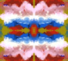 Colorful Southwestern Inspired Abstract by KraziDecor