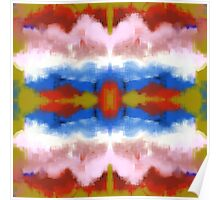 Colorful Southwestern Inspired Abstract Poster