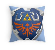 Hylian Shield Throw Pillow