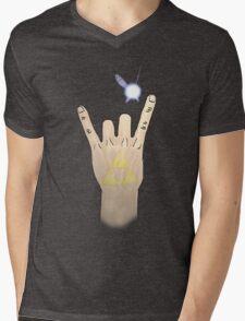 Hero of ROCK! Mens V-Neck T-Shirt