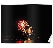 Canada Day Fireworks Poster
