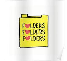 Folder Love Poster