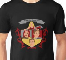 Buffy the Vampire Slayer Scooby Gang Family Crest Unisex T-Shirt