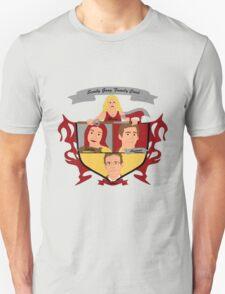 Buffy the Vampire Slayer Scooby Gang Family Crest Unisex T-Shirt