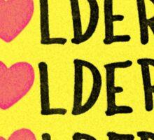 Folder Love Sticker