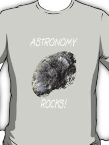 Astronomy Rocks! T-Shirt