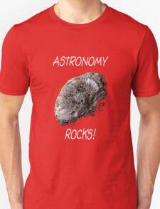 Astronomy Rocks! Unisex T-Shirt