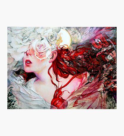 White Roses Photographic Print