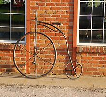 Old Bike by Mary Carol Story