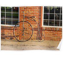 Old Bike Poster