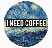starry night/I need coffee by alexwein