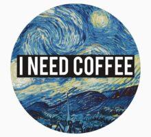 starry night/I need coffee by alexwein
