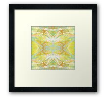 Bright Colorful Spring Butterfly Abstract Framed Print