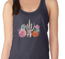 Passive Aggressive Skeleton Hand? Women's Tank Top