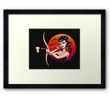 Bad Bettie - Little Devil! Framed Print