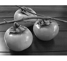 Three Persimmons Photographic Print
