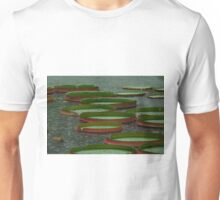 Lily Pad in the Rain Unisex T-Shirt