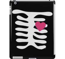 Valentines Cute Skeleton Heart iPad Case/Skin