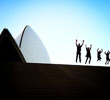 Jumping Family by Jackie Cooper