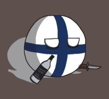 PERKELE!!!!!! - Finlandball Countryball Polandball Finland by meme-tees