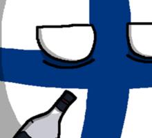 PERKELE!!!!!! - Finlandball Countryball Polandball Finland Sticker