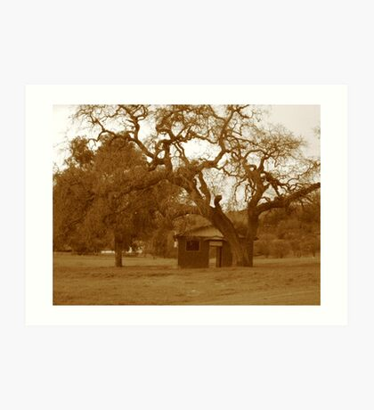 Homestead Once Upon a Time Art Print