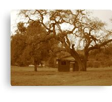 Homestead Once Upon a Time Canvas Print