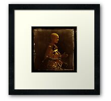 The perfect woman; test subject #4 Framed Print