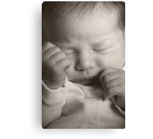 Newborn Canvas Print