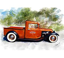 32 Ford Pickup Photographic Print