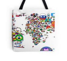 Polandball Countryball World Map - No Border Tote Bag