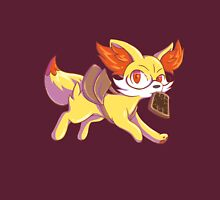 Late for school Fennekin Womens Fitted T-Shirt