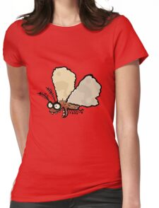 Melli, the mean moth Womens Fitted T-Shirt