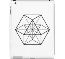 Cube Octahedron White iPad Case/Skin