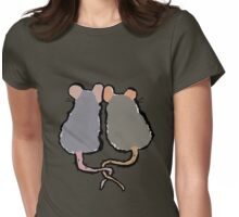 romantic rats Womens Fitted T-Shirt
