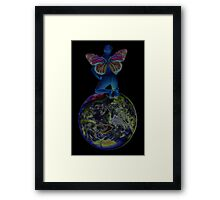 Spirit of the Earth 2 Framed Print