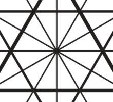 Cube-Octahedron  Sticker