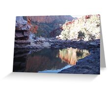 Ormiston Gorge Greeting Card