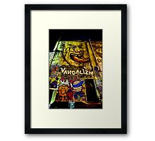 Melbourne Street Art Framed Print