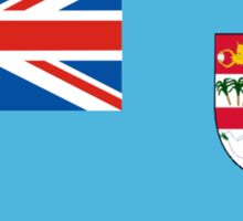 flag of fiji Sticker