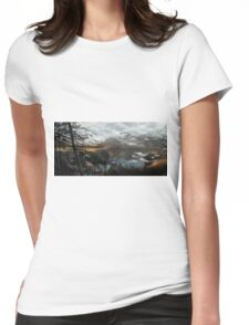 Tranquil Womens Fitted T-Shirt