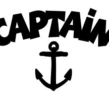 CAPTAiN Anchor by theshirtshops