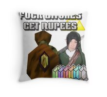 CapnDesDes Throw Pillow