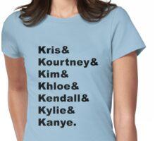 Kardashian Klan Womens Fitted T-Shirt