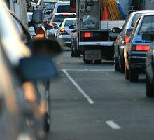 Peak hour traffic by AUSSKY