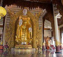 Burmese Temple Penang Malaysia by MiImages