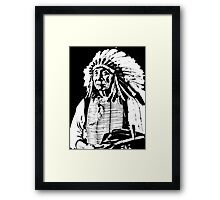 CHIEF RED CLOUD Framed Print