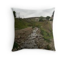 Wanlockhead Throw Pillow